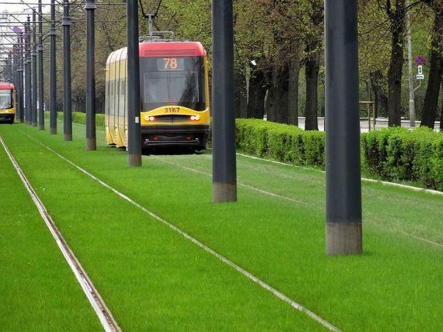 Green trams