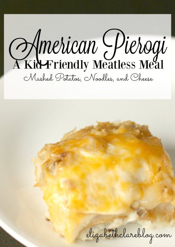 A yummy, cheesy meatless meal for Lent that is family friendly. The kids will love the mashed potatos, noodles, and cheese! Yum!