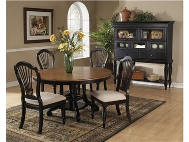 Shop For Hillsdale Furniture Wilshire Round/Oval Dining Table Base,  4509 817,