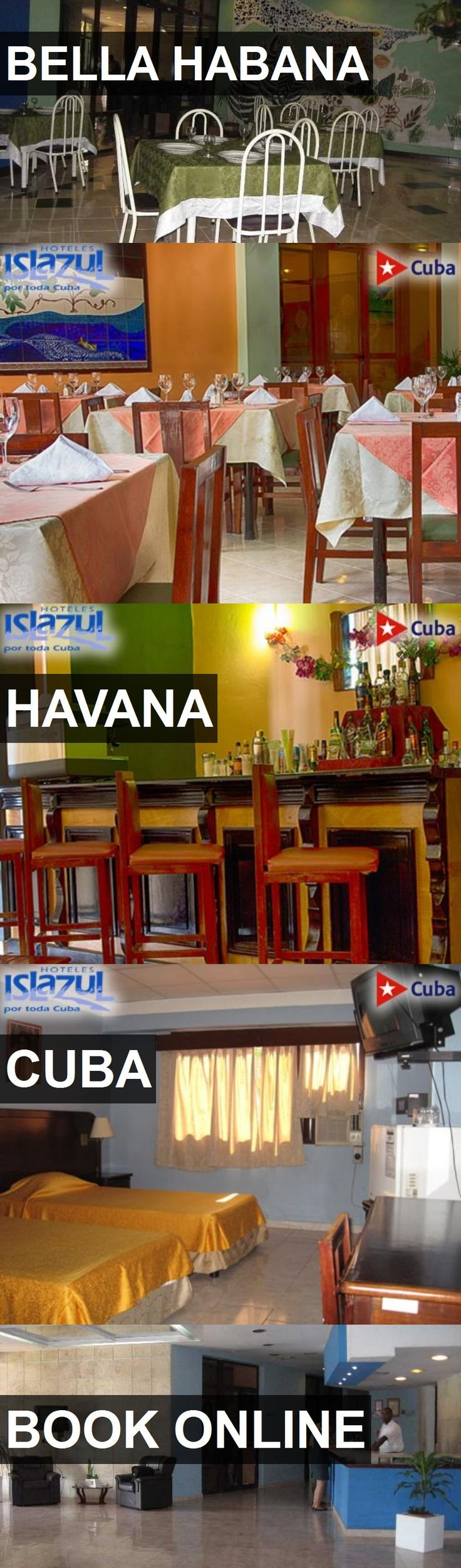 Hotel BELLA HABANA in Havana, Cuba. For more information, photos, reviews and best prices please follow the link. #Cuba #Havana #BELLAHABANA #hotel #travel #vacation
