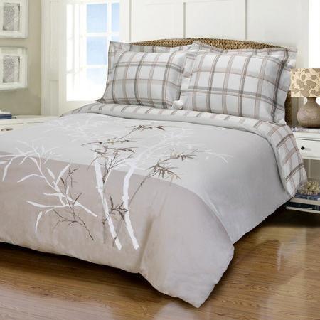 Simple Luxury Elmwood 3 Piece Duvet Cover Set
