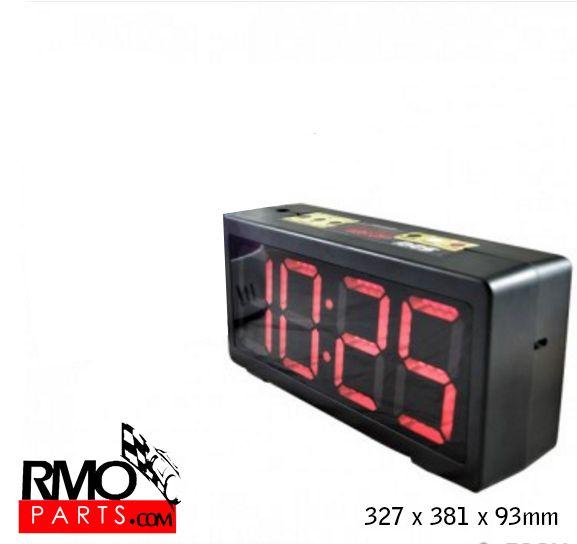 Reloj asistencia, programable, con cuenta regresiva.