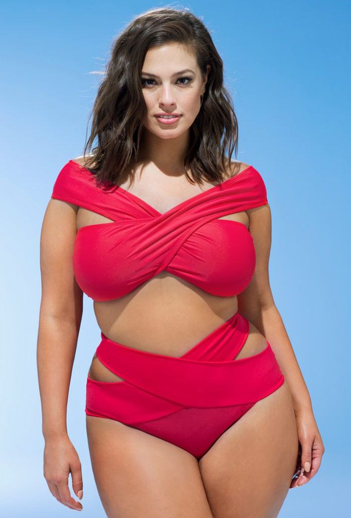 Ashley Graham x swimsuitsforall Guapa Bikini