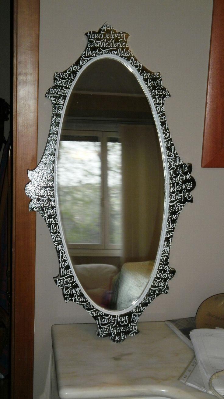 decorazione cornice specchio di Biancaneve