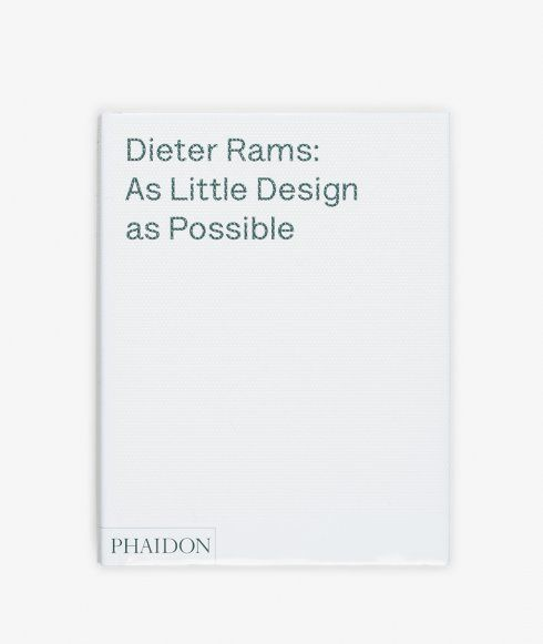 A clear, comprehensive and beautiful presentation of Dieter Rams' life and his work. It is a must-have book for anyone interested in Rams' work, his legacy, and his ideas about how to live.