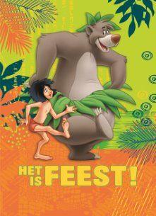 Het is FEEST! #Hallmark #HallmarkNL #Disney #junglebook