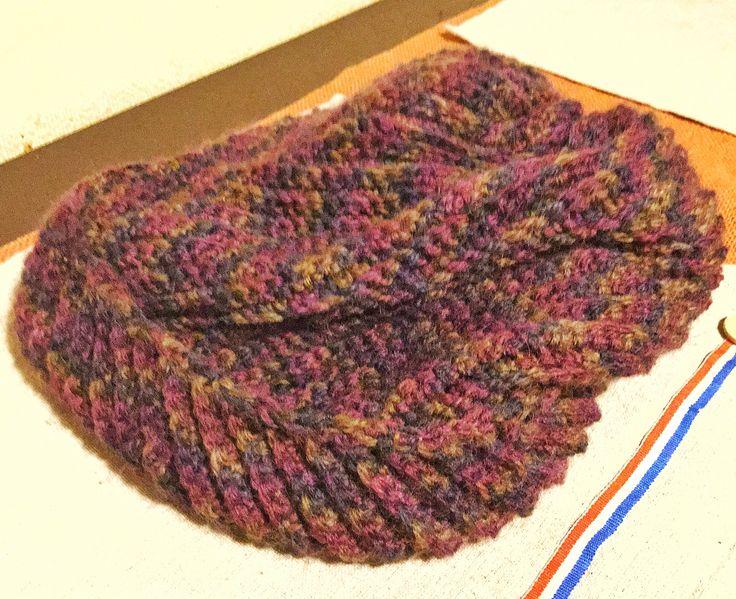 かぎ針編みの帽子 crochet