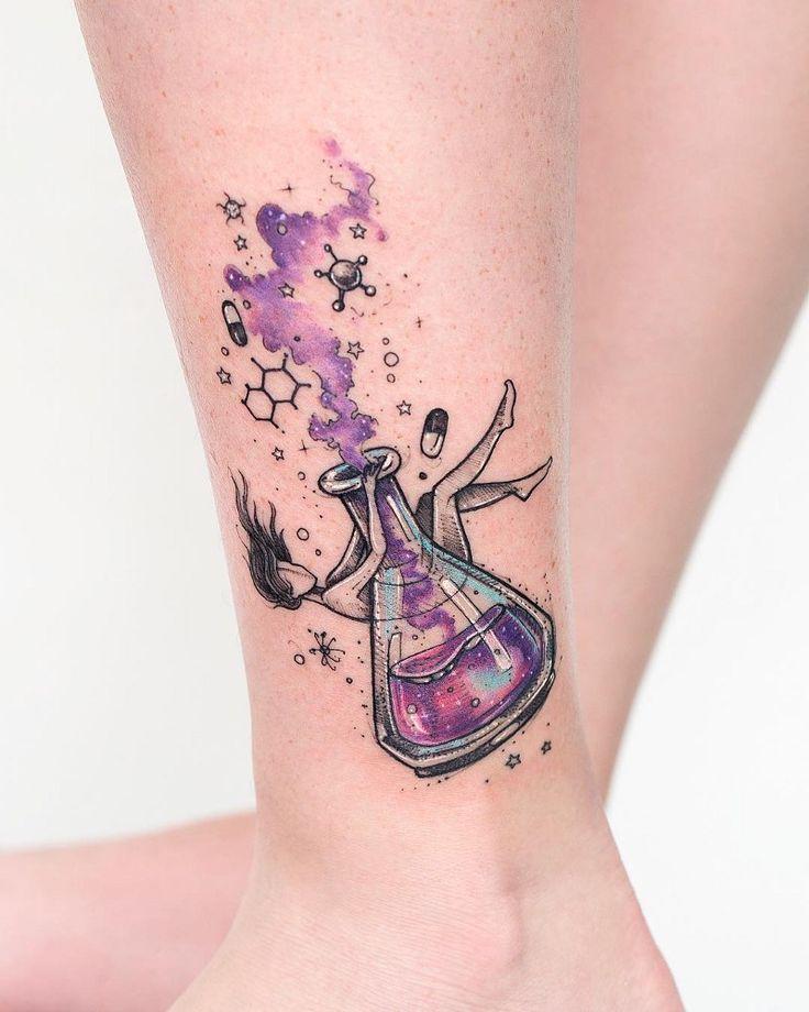 10 tatuadores que estão bombando em nosso perfil no Pinterest - Blog Tattoo2me | Tatuagens científicas, Tatuagem química, Tatuagem sobre ciência
