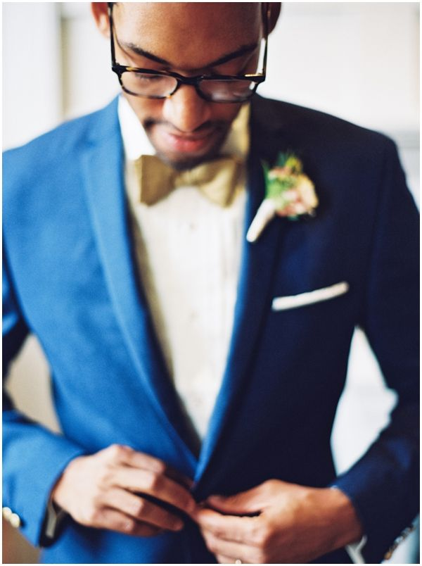 Dapper and Blue Groom