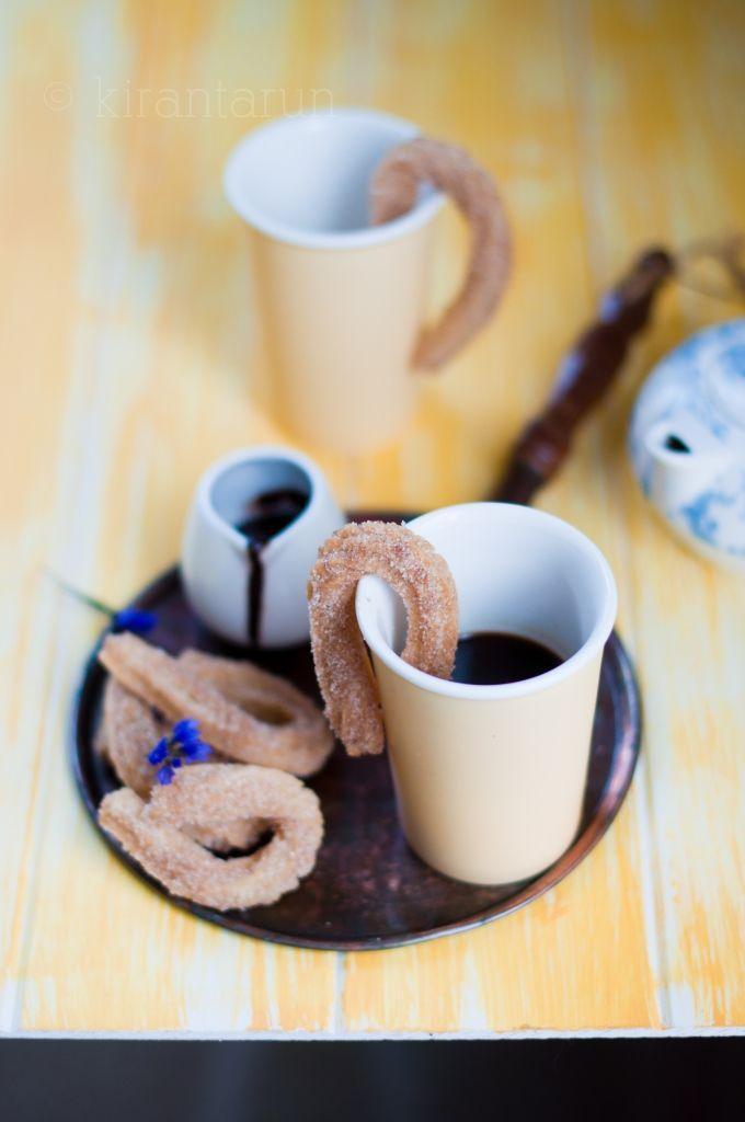 Churros con Chocolate | KiranTarun.com