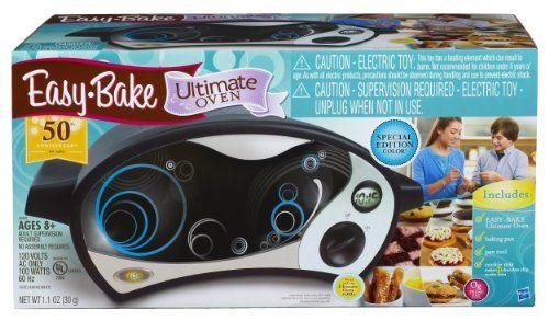 Easy-Bake Ultimate Oven, Black/Silver  http://www.bestdealstoys.com/easy-bake-ultimate-oven-blacksilver/