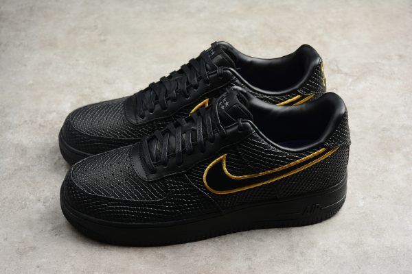 a2b46d680 2018 New Nike Air Force 1 Low Premium iD Black Mamba Kobe AQ9763-991 Shoes-6