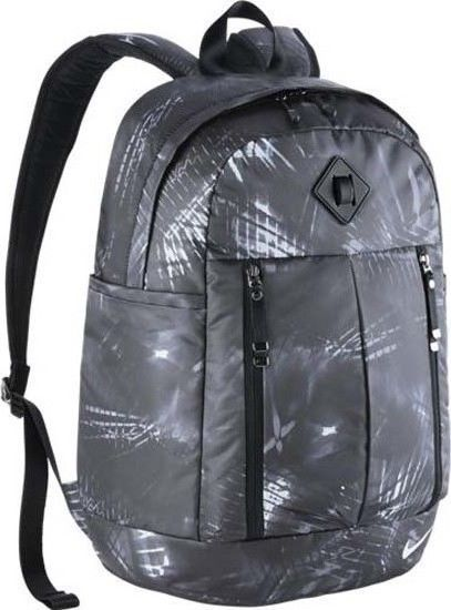 69570dbe4a91 Nike Auralux Printed Backpack Size 26 Litre Black Training School Bag  Nike   Backpack