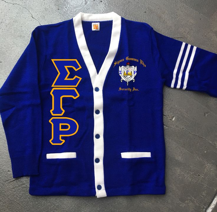 Sigma Gamma Rho Varsity APlus Cardigan by DeferenceClothing on Etsy https://www.etsy.com/listing/557154313/sigma-gamma-rho-varsity-aplus-cardigan