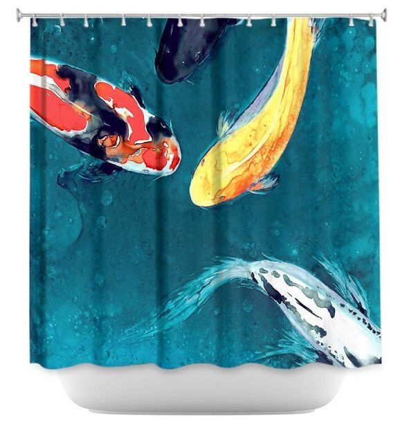 17 best ideas about koi painting on pinterest koi koi for Koi fish bathroom decorations