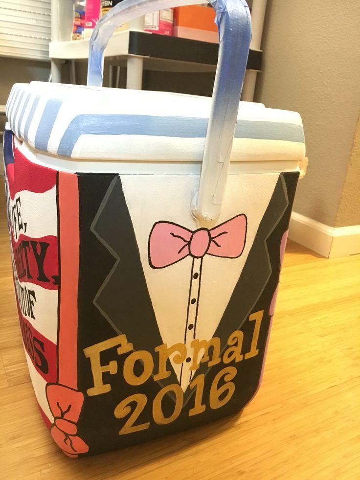 Frat Cooler #Formal #TSM #Cooler #Sorority #Fraternity #Crafting #DIY