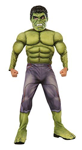 Rubie's Costume Avengers 2 Age of Ultron Child's Deluxe Hulk Costume Small