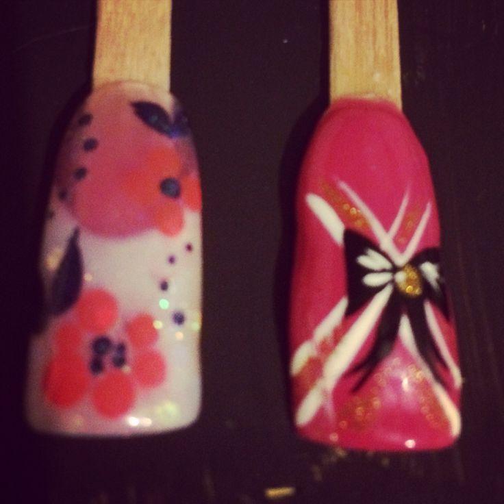 Cherry blossom, a an a bow.