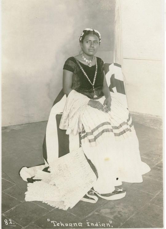 Tehuana Woman, Chihuahua, Mexico