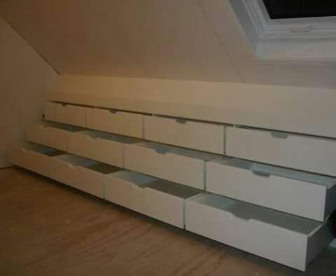 Closet idea #attic