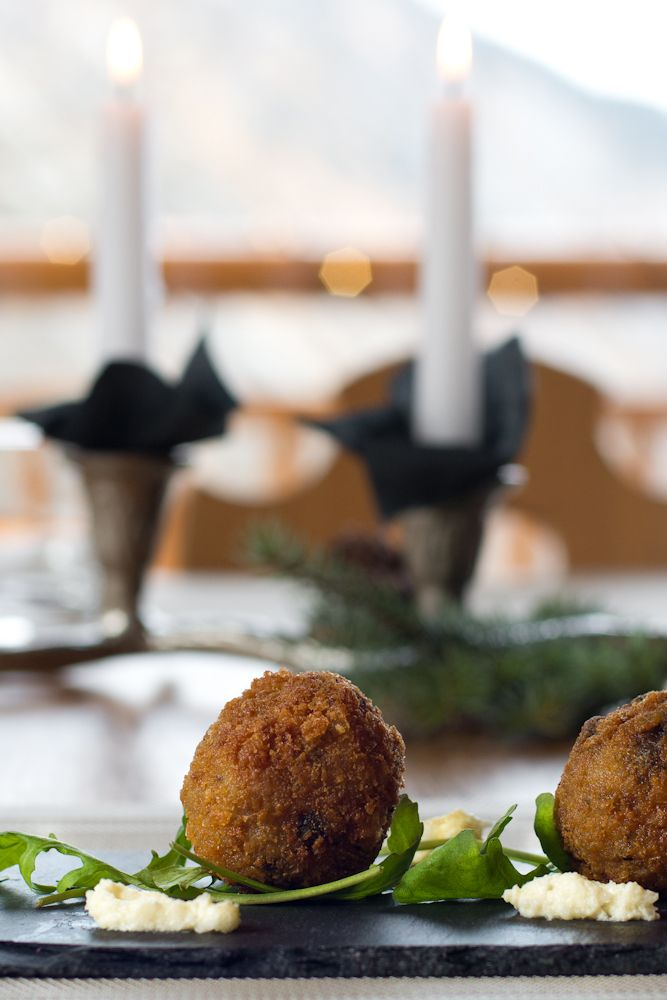 Porcini Mushroom and Cauliflower Arancini Balls!!! Absolutely ...