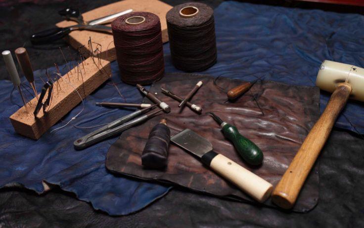 Studio LeJi - Handmade Leather goods www.studioleji.com