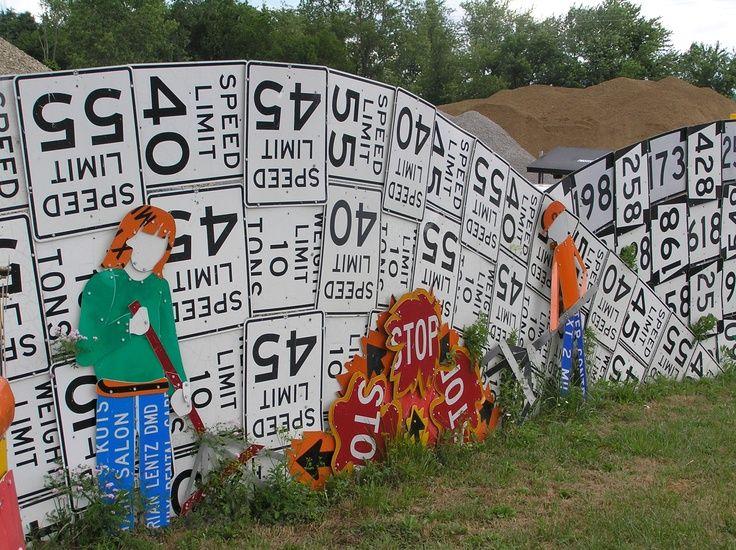Road Sign Bart B BMeadville BPA