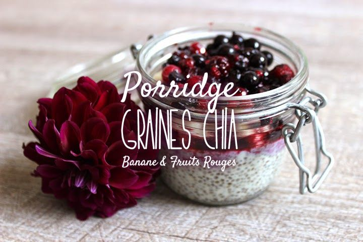 Blog Cuisine & DIY Bordeaux - Bonjour Darling - Anne-Laure: Pudding Graines Chia Banane & Fruits rouges