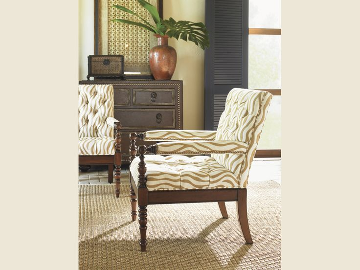 Tommy Bahama Home Landara Collection Carrera Chair Lexington Home Brands