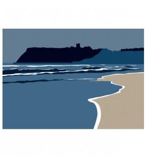 Scarborough.Castle.North.Bay_IanMitchellart.com