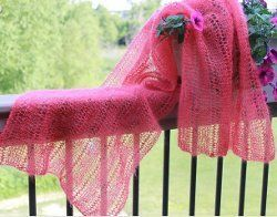 Easy Claire Lace Shawl