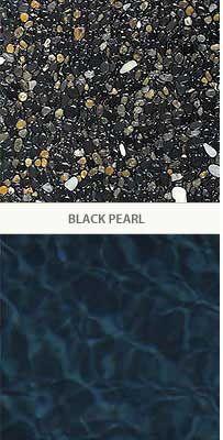 Best Finishes Images On Pinterest Pool Plaster Pool Remodel - Black pearl pebble tec pool bottom