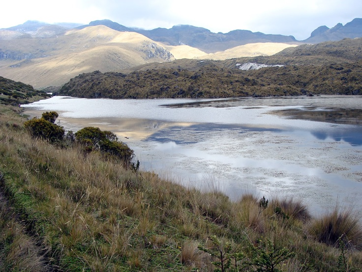 Laguna del otun Pereira Colombia