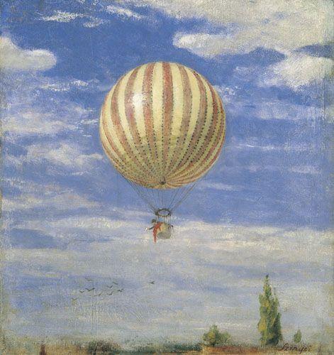 Szinyei Merse, Pál | Balloon | 1878 | Oil , Canvas  42 x 39,3 cm | Inv.: 4648: