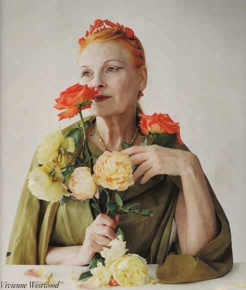 Vivienne Westwood ♥ : is a British fashion designer and businesswoman, largely responsible for bringing modern punk and new wave fashions into the mainstream.