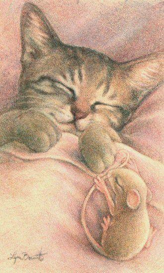 Art by Lynn Bonnette: June 2010 ......all nestled, all snug in their beds
