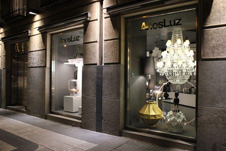 Nuestro nuevo escaparate en el showroom de Alcalá