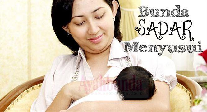 Selama menyusui, bukan tubuh Anda yang berperan memberikan ASI, tetapi sikap, hati dan pikiran Anda untuk bayi. Klik link di atas untuk informasi lengkapnya