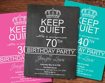 Man 60th birthday Invitation. Black tie by ThePaperWingCreation
