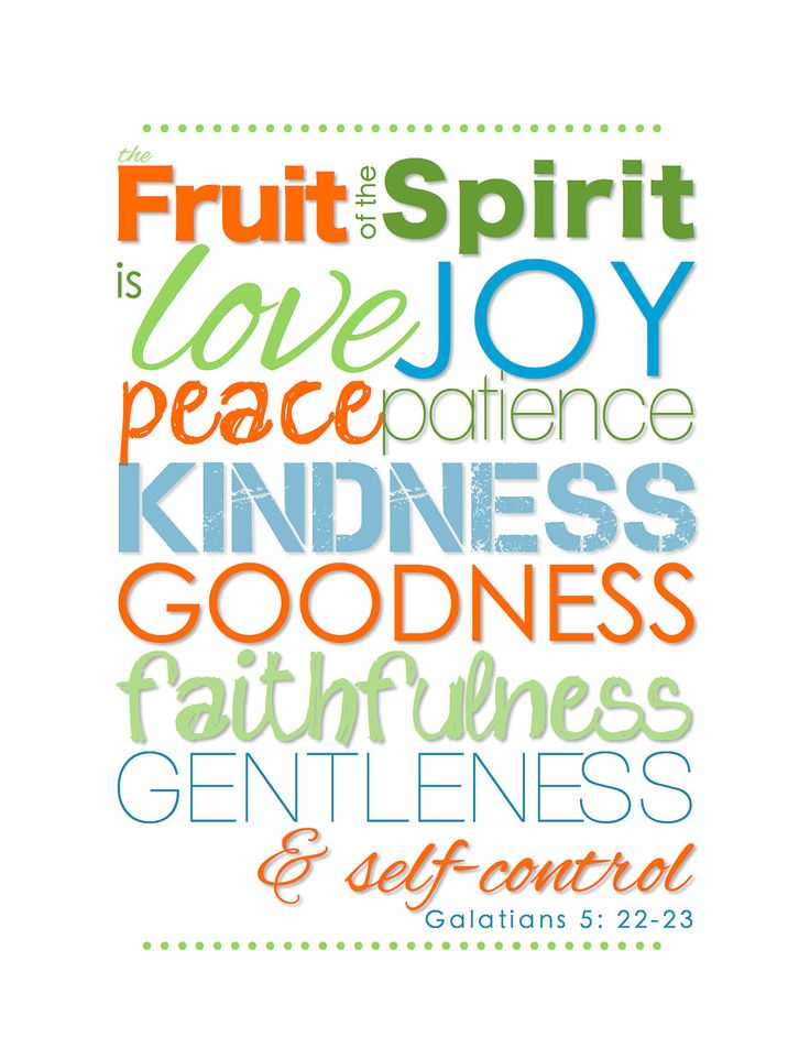 FRUIT of the SPIRIT - Colorful Christian Nursery Decor Subway Art - Printable - DIGITAL File. $4.00, via Etsy.    I could turn this into a mobile: 9 pieces hanging, each with a different object mentioning the fruits of the Spirit