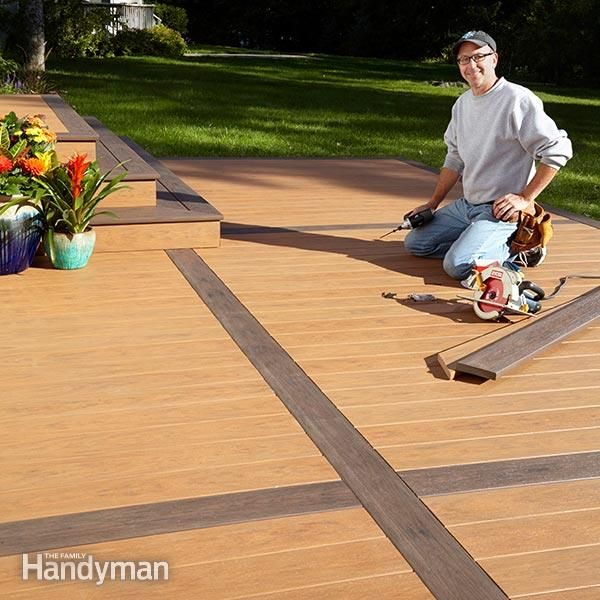 Great How To Build A Deck Over A Concrete Patio