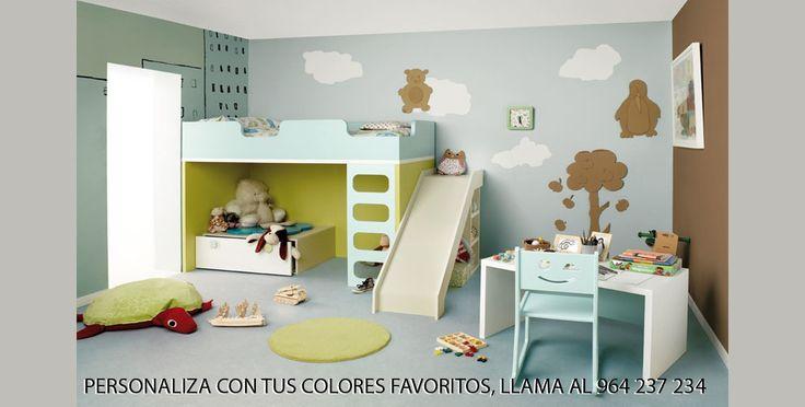Dormitorios Infantiles HABITAT 101. Decoración Beltrán, tu tienda online en mobiliario juvenil e infantil. www.decoracionymadera.com
