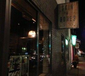Skin and Bones - wine bar/restaurant in Leslieville, Toronto