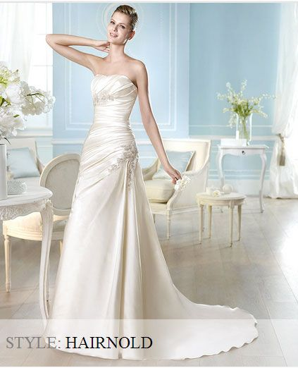 San Patrick Wedding Gown - Glamour Collection 2014 - Hairnold