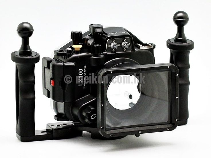 Meikon 40m/130ft Underwater Camera Housing Kit for Panasonic LX100 Meikon underwater camera housings are designed for those who are into underwater photography/