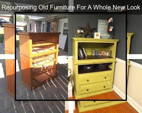 Vintage Repurposed Furniture Recycled Furniture Reno Making