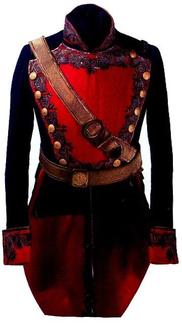 """Uniform of Mexican general around the time of the Texas revolution"""