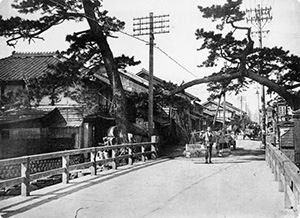 No.29 東海道五十三次之内 濱松 冬枯ノ図   知足美術館