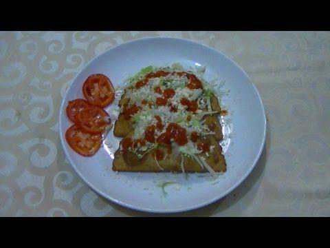 CHUCHEMAN    como hacer quesadillas fritas-Recetas de cocina