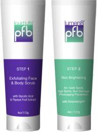 In twee stappen ouderdomsvlekjes, melasma, pigmentvlekjes (lentigo) en overige donkere huidvlekjes reduceren zonder de huid te bleken